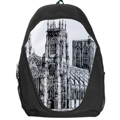 York Cathedral Vector Clipart Backpack Bag