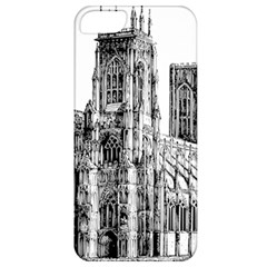 York Cathedral Vector Clipart Apple iPhone 5 Classic Hardshell Case