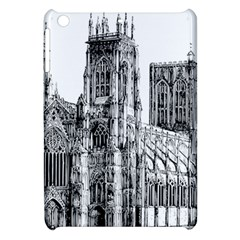 York Cathedral Vector Clipart Apple iPad Mini Hardshell Case