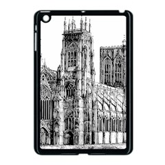York Cathedral Vector Clipart Apple iPad Mini Case (Black)