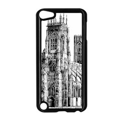 York Cathedral Vector Clipart Apple Ipod Touch 5 Case (black)