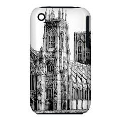 York Cathedral Vector Clipart iPhone 3S/3GS