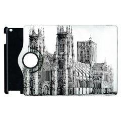 York Cathedral Vector Clipart Apple iPad 3/4 Flip 360 Case