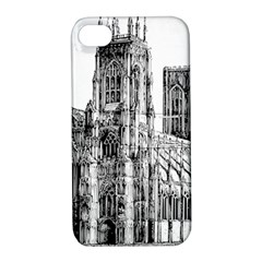 York Cathedral Vector Clipart Apple iPhone 4/4S Hardshell Case with Stand