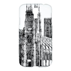 York Cathedral Vector Clipart Samsung Galaxy S4 I9500/i9505 Hardshell Case