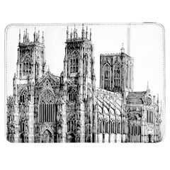 York Cathedral Vector Clipart Samsung Galaxy Tab 7  P1000 Flip Case