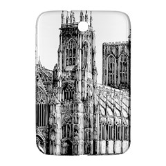 York Cathedral Vector Clipart Samsung Galaxy Note 8.0 N5100 Hardshell Case