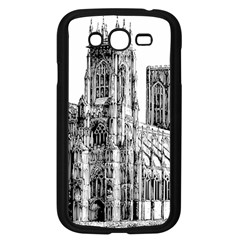 York Cathedral Vector Clipart Samsung Galaxy Grand DUOS I9082 Case (Black)