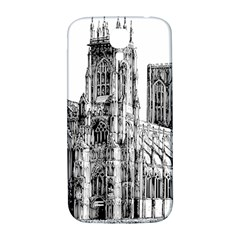 York Cathedral Vector Clipart Samsung Galaxy S4 I9500/i9505  Hardshell Back Case
