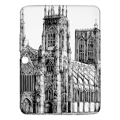 York Cathedral Vector Clipart Samsung Galaxy Tab 3 (10.1 ) P5200 Hardshell Case