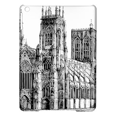 York Cathedral Vector Clipart iPad Air Hardshell Cases