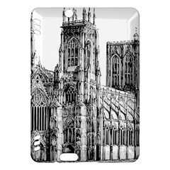 York Cathedral Vector Clipart Kindle Fire HDX Hardshell Case