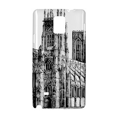 York Cathedral Vector Clipart Samsung Galaxy Note 4 Hardshell Case