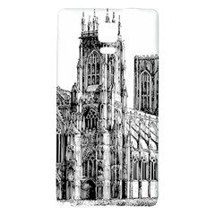 York Cathedral Vector Clipart Galaxy Note 4 Back Case