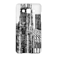 York Cathedral Vector Clipart Samsung Galaxy A5 Hardshell Case