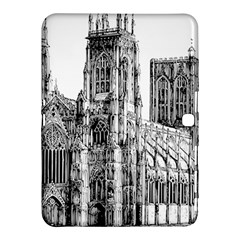 York Cathedral Vector Clipart Samsung Galaxy Tab 4 (10.1 ) Hardshell Case