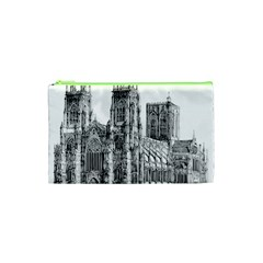 York Cathedral Vector Clipart Cosmetic Bag (xs)