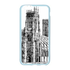 York Cathedral Vector Clipart Apple Seamless iPhone 6/6S Case (Color)