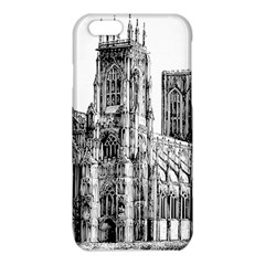 York Cathedral Vector Clipart iPhone 6/6S TPU Case