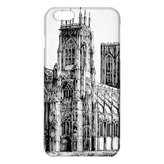 York Cathedral Vector Clipart Iphone 6 Plus/6s Plus Tpu Case