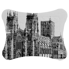 York Cathedral Vector Clipart Jigsaw Puzzle Photo Stand (Bow)