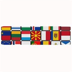 Europe Flag Star Button Blue Large Bar Mats