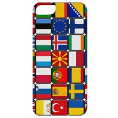 Europe Flag Star Button Blue Apple Iphone 5 Classic Hardshell Case