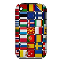 Europe Flag Star Button Blue iPhone 3S/3GS