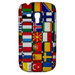 Europe Flag Star Button Blue Galaxy S3 Mini