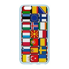 Europe Flag Star Button Blue Apple Seamless iPhone 6/6S Case (Color)
