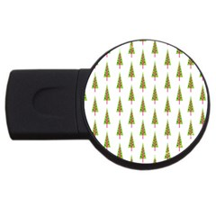 Christmas Tree USB Flash Drive Round (1 GB)