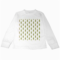 Christmas Tree Kids Long Sleeve T-Shirts
