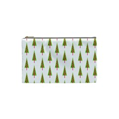 Christmas Tree Cosmetic Bag (small)