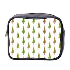 Christmas Tree Mini Toiletries Bag 2 Side