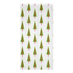 Christmas Tree Shower Curtain 36  x 72  (Stall)