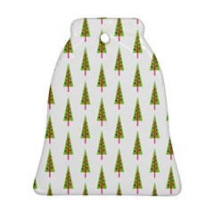 Christmas Tree Bell Ornament (Two Sides)