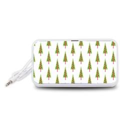 Christmas Tree Portable Speaker (White)