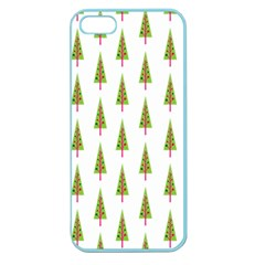Christmas Tree Apple Seamless iPhone 5 Case (Color)
