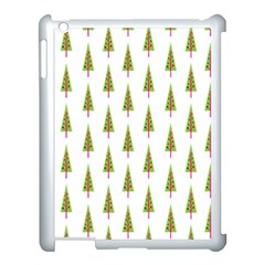 Christmas Tree Apple iPad 3/4 Case (White)