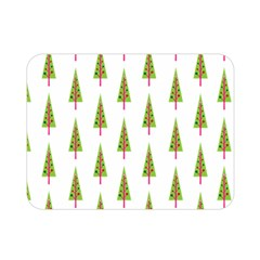 Christmas Tree Double Sided Flano Blanket (mini)