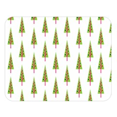 Christmas Tree Double Sided Flano Blanket (Large)
