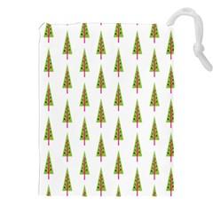 Christmas Tree Drawstring Pouches (XXL)