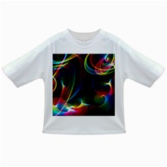 Abstract Rainbow Twirls Infant/Toddler T-Shirts