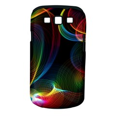 Abstract Rainbow Twirls Samsung Galaxy S III Classic Hardshell Case (PC+Silicone)
