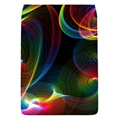 Abstract Rainbow Twirls Flap Covers (S)