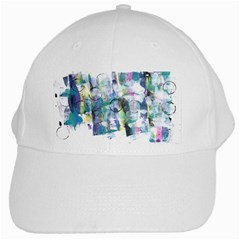 Background Color Circle Pattern White Cap
