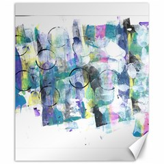 Background Color Circle Pattern Canvas 20  X 24