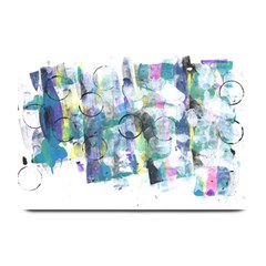 Background Color Circle Pattern Plate Mats
