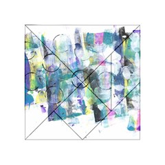 Background Color Circle Pattern Acrylic Tangram Puzzle (4  X 4 )