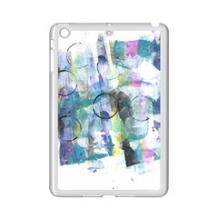 Background Color Circle Pattern iPad Mini 2 Enamel Coated Cases